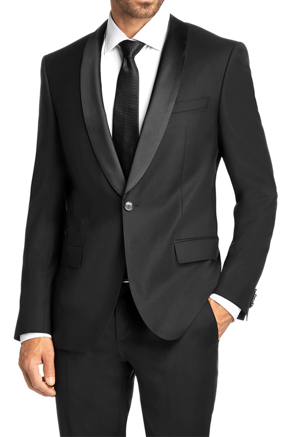 TUX-5 <br><p>1-BUTTON, SHAWL COLLAR, HAND STITCHING</p>