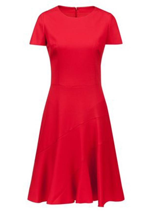 Dress 3 <br><p>ROUND NECK</p>